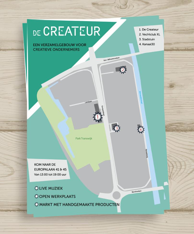 De Createur flyer